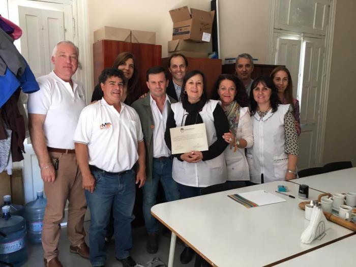 Escuela de Totoras recibe fondos FANI