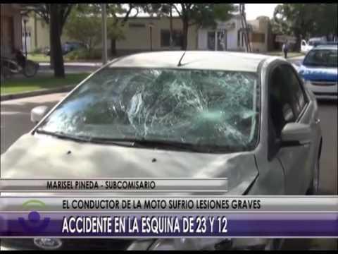 Accidente de moto Las Parejas