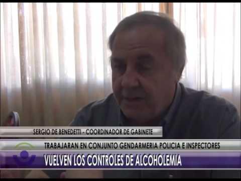 Controles de alcoholemia - Benedetti
