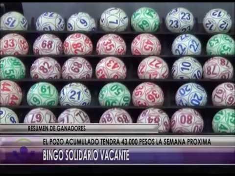 Bingo Solidario vacante