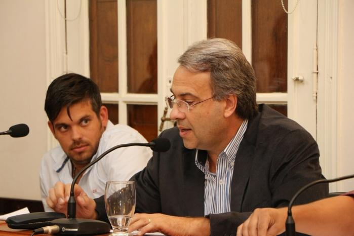 Concejal Marcelo Casalegno