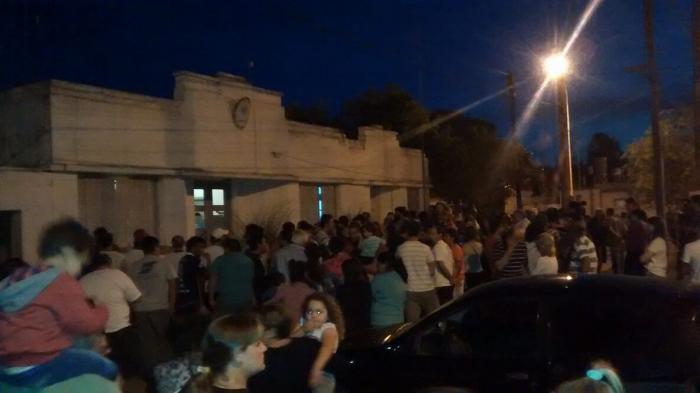 Manifestación por asesinato en General Roca