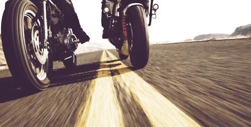 Tres accidentes de moto