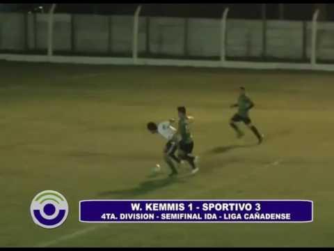 Show de Goles semifinal Ida Sportivo Kemmis
