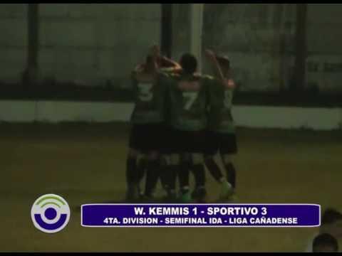 Sportivo ganó en Las Rosas frente a W. Kemmis 3 a 1