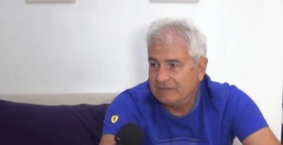 Eduardo Silva, referente del tenis para no videntes, se encuentra en Cañada