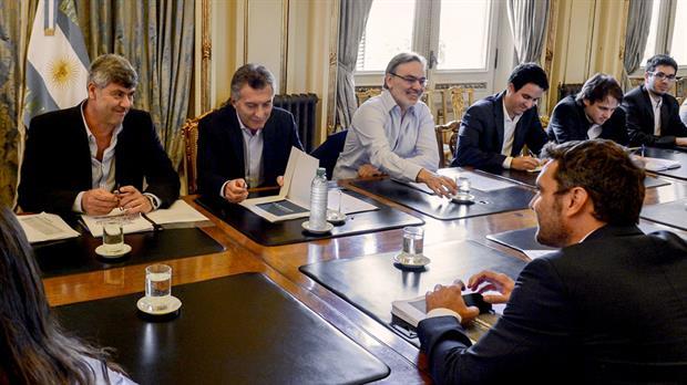 Macri encabezó ayer una reunión de seguimiento con el equipo de agroindustria