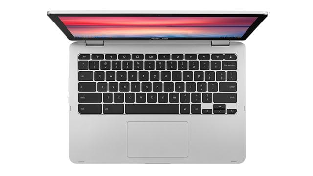 La Asus Chromebook C302CA debutó en el CES 2017 y lleva una pantalla táctil Full HD de 12,5 pulgadas, 4 u 8 GB de RAM, chip Intel Core M, entre 32 y 128 GB de almacenamiento interno, dos puertos USB-C y 1,2 kg de peso, además de un precio cercano a los 500 dólares