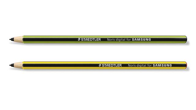 Junto a la firma alemana Staedtler, Samsung presentó los lápices stylus Noris