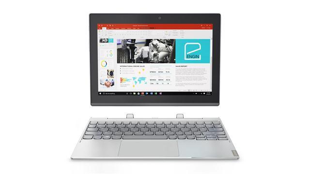 La computadora 2 en 1 Miix de Lenovo