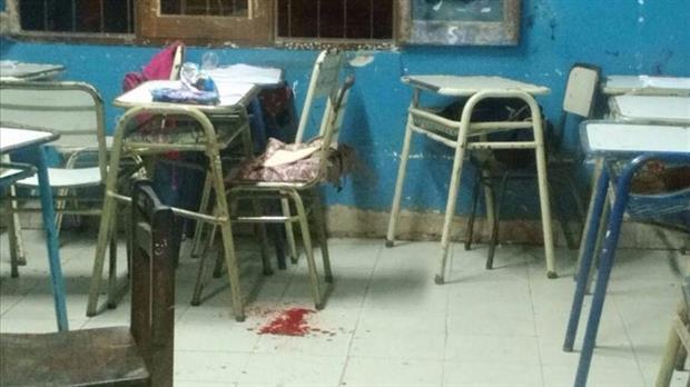 Un alumno baleó a una compañera en la cara en plena clase en Salta