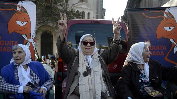 La presidenta de Madres de Plaza de Mayo, Hebe de Bonafini, repudió la decisión de la Corte Suprema de Justicia