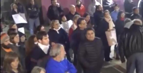 Marcha en repudio al 2x1 Cañada de Gómez