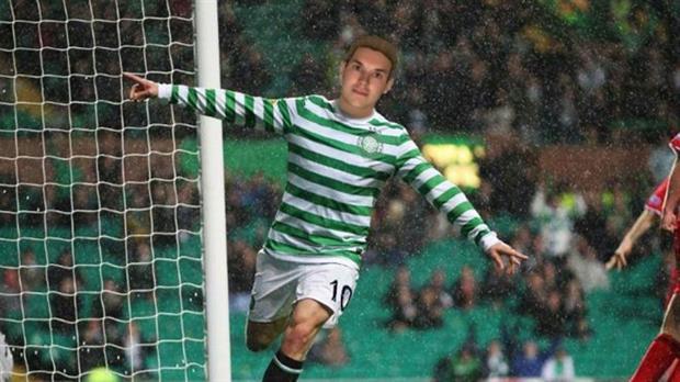 Strok llegó al Celtic a los 18 años procedentes del NK Zagreb