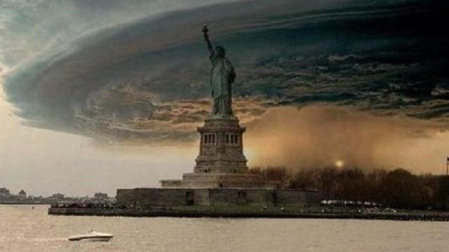 Fotos fabricadas emergieron cuando el huracán Sandy descendió sobre Nueva York en 2012