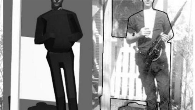 """Análisis de la """"física"""" en esta foto de Lee Harvey Oswald -que fue presentada como evidencia en el juicio por el asesinato de John F. Kennedy- llevó a los científicos a descartar que fuera falsa"""