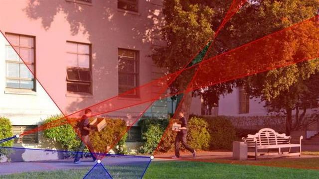 Trazando una línea de la sombra de una imagen hacia su fuente de luz es posible determinar si hay elementos que fueron añadidos a la foto