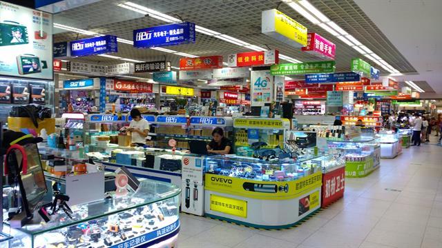 En los negocios de Shenzhen se puede comprar cualquier dispositivo tecnológico imaginable
