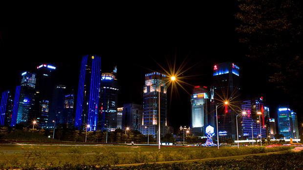 Los rascacielos de Shenzhen