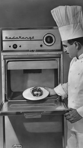 Un Radarange, el primer modelo del microondas