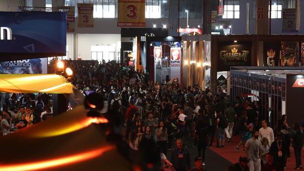 La feria Brasil Game Show recibió a 300 mil visitantes al semana pasada
