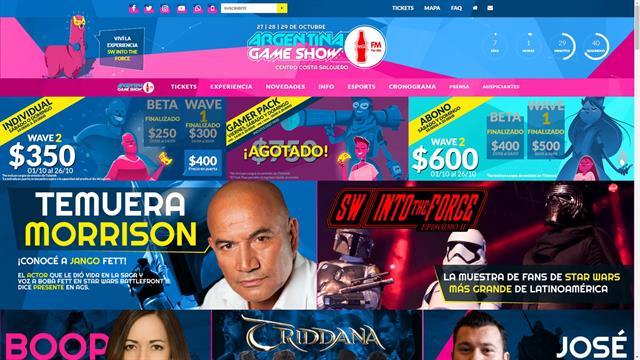 Argentina Game Show Coca-Cola For Me es el nombre oficial de la feria gamer que comienza el próximo viernes