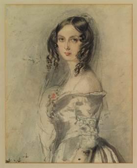 Ada Lovelace cuando tenía 20 años