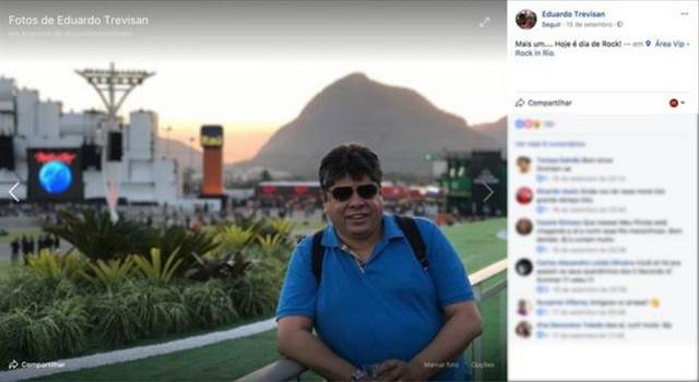 Eduardo Trevisan es el propietario de la empresa Facemedia, que opera en Río de Janeiro