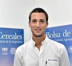 Gonzalo Hermida, de la Bolsa de Cereales de Buenos Aires