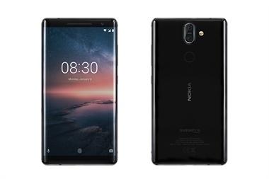 Un Nokia 8 Sirocco, el tope de línea actual de la compañía