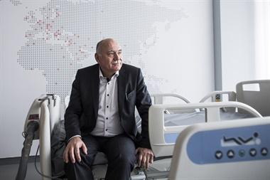 Zbynek Frolik, CEO y fundador de Linet, el fabricante de camas hospitalarias de República Checa