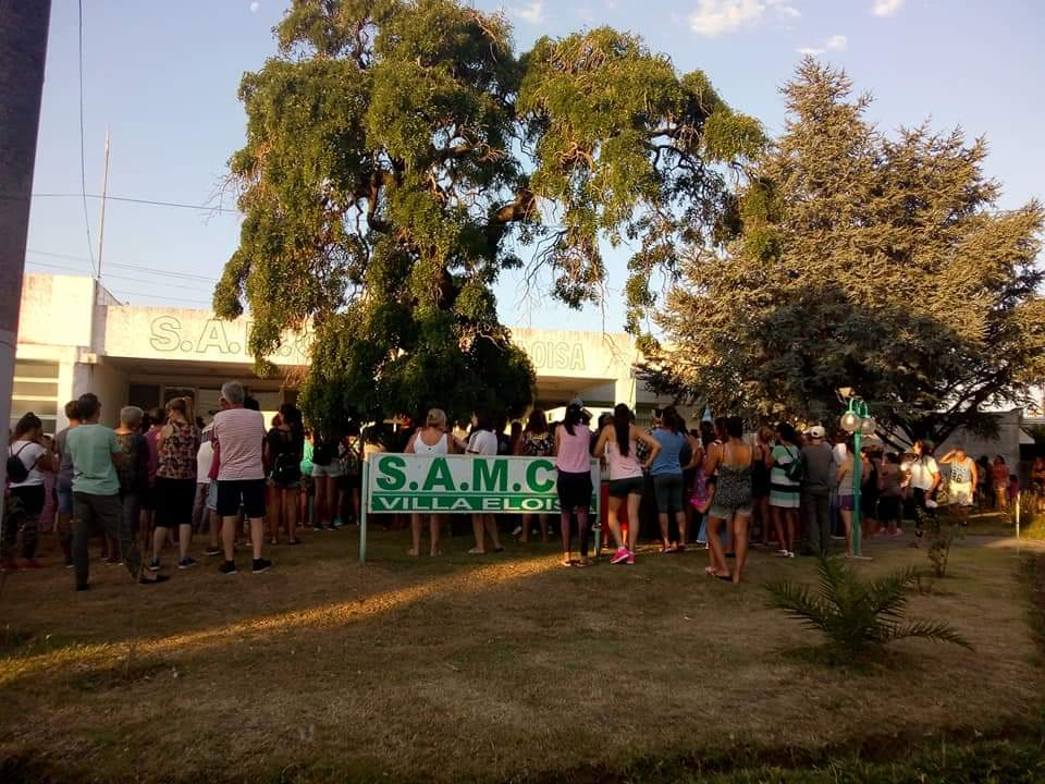 Movilizacion Samco Villa Eloisa